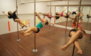 Pole dancing classes sandton johannesburg level 2